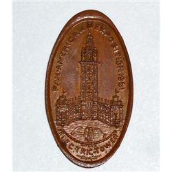 1901 PAN AMERICAN EXPOSITION WORLDS FAIR SOUVENIR FLAT PENNY