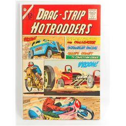 1966 DRAG STRIP HOTRODDERS NO 9 COMIC BOOK - 12 CENT COVER