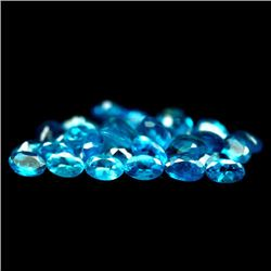 LOT OF 9.26 CTS OF BLUE MADAGASCAR APATITES