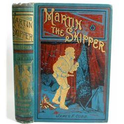 """ANTIQUE C. 1919 """"MARTIN THE SKIPPER"""" HARDCOVER BOOK"""