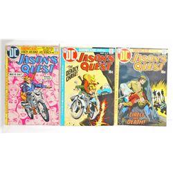LOT OF 3 1970 JASONS QUEST COMIC BOOKS - 15 CENT COVERS