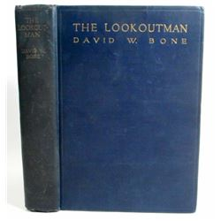 """1923 """"THE LOOKOUTMAN"""" HARDCOVER BOOK BY DAVID W BONE"""