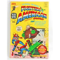 1966 FIGHTING AMERICAN AND SPEEDBOY NO 1 GIANT COMIC BOOK - 25 CENT COVER