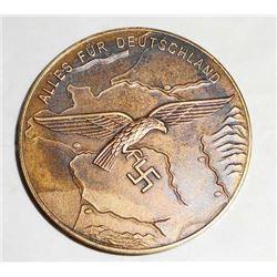 GERMAN NAZI LUFTWAFFE ALLES FUR DEUTSCHLAND TABLE AWARD