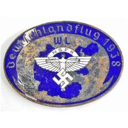 GERMAN NAZI NSFK GLIDER KORPS BADGE