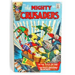 1966 THE MIGHTY CRUSADERS NO 6 COMIC BOOK - 12 CENT COVER