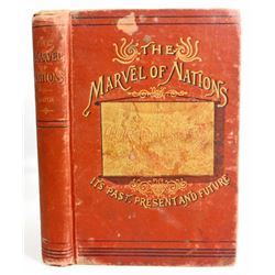 """1886 """"OUR COUNTRY IS PAST, PRESENT AND FUTURE"""" HARDCOVER BOOK"""
