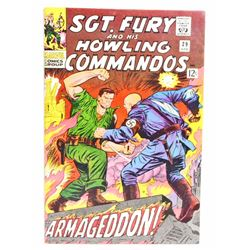 1966 SGT. FURY COMIC BOOK NO. 29 - 12 CENT COVER