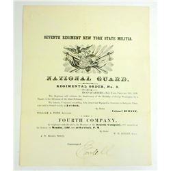 1858 SEVENTH REGIMENTAL ORDER NO.3