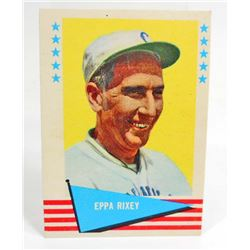 1961 FLEER EPPA RIXEY #71 BASEBALL CARD