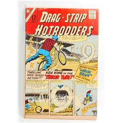 1966 DRAG STRIP HOTRODDERS NO 14 COMIC BOOK - 12 CENT COVER