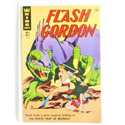 1966 FLASH GORDON NO 2 COMIC BOOK - 12 CENT COVER