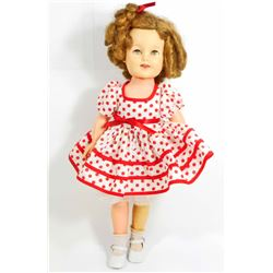 VINTAGE IDEAL SHIRLEY TEMPLE DOLL W/ CLOTHES