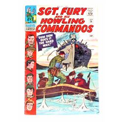 1966 SGT. FURY COMIC BOOK NO. 26 - 12 CENT COVER