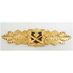 GERMAN NAZI ARMY GOLD CLOSE COMBAT CLASP