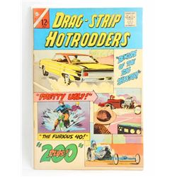 1966 DRAG STRIP HOTRODDERS NO 10 COMIC BOOK - 12 CENT COVER