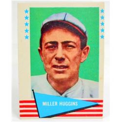 1961 FLEER MILLER HUGGINS #46 BASEBALL CARD