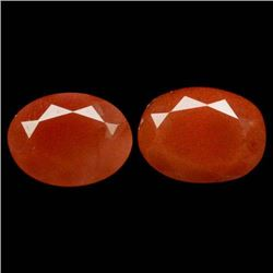 LOT OF 2.43 CTS OF COPPER ORANGE CONGO ANDENSINE