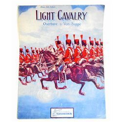 1907 LIGHT CAVALRY BEAUX ARTS EDITION SHEET MUSIC
