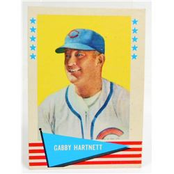 1961 FLEER GABBY HARTNETT #41 BASEBALL CARD