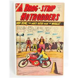 1966 DRAG STRIP HOTRODDERS NO 13 COMIC BOOK - 12 CENT COVER