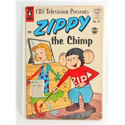 1957 ZIPPY NO 51 COMIC BOOK - 10 CENT COVER