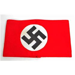 GERMAN NAZI POLITICAL NSDAP SWASTIKA ARM BAND