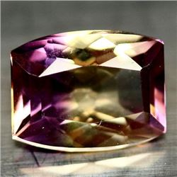 4.17 CT PURPLE AND GOLDEN BOLIVIAN AMETRINE