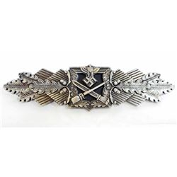 GERMAN NAZI ARMY SILVER CLOSE COMBAT CLASP