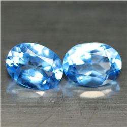 LOT OF 3.10 CTS OF AZOTIC BLUE MYSTIC BRAZILIAN TOPAZ