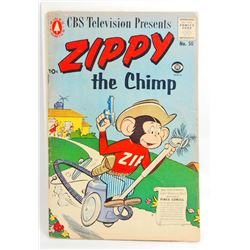1957 ZIPPY NO. 50 COMIC BOOK - 10 CENT COVER