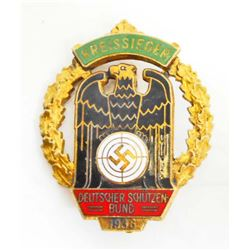 GERMAN NAZI KREISSIEGER MARKSMAN SHOOTING BADGE