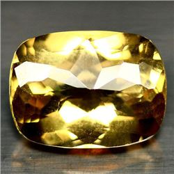 10.13 CT SMOKY YELLOW AFRICAN QUARTZ