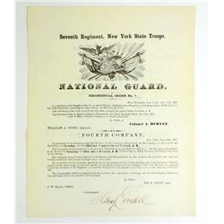 1859 SEVENTH REGIMENTAL ORDER NO.7