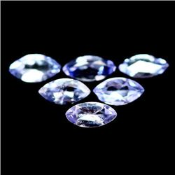 LOT OF 3.00 CTS OF BLUE TANZANITES