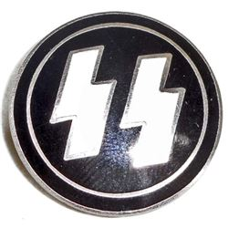 GERMAN NAZI WAFFEN SS PARTY BADGE