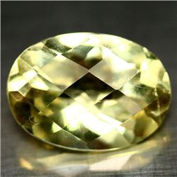 5.21 CT LEMON YELLOW AFRICAN QUARTZ