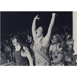 Original Photo of Fans from THE BEATLES Hollywood Bowl Concert