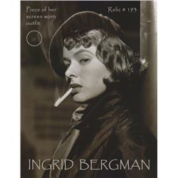 Original Ingrid Bergman Wardrobe Fabric