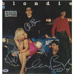 "Blondie ""Plastic Letters"" Band Signed Record Album"
