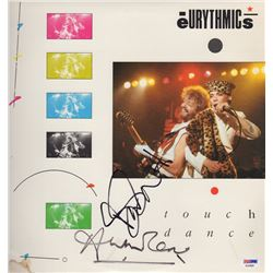 "Eurythmics ""Touch Dance"" Annie Lennox & David Stewart Signed Record Album"