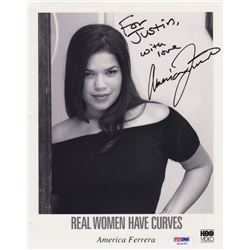 America Ferrera Signed Photo