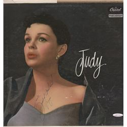 "Judy Garland Signed ""Judy"" 1956 UK Vinyl LP Album"