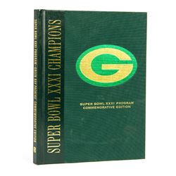 Green Bay Packers Super Bowl XXXI Program Book Signed by Desmond Howard
