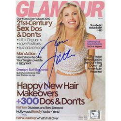 Faith Hill Signed GLAMOUR Magazine Cover