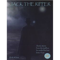 Original Jack the Ripper Mailbox Stone