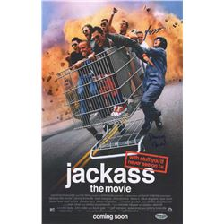 Set of 10 Dave England & Preston Lacy Signed Posters from Jackass the Movie