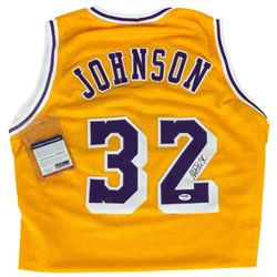 Los Angeles Lakers Legend Magic Johnson Signed Jersey #32