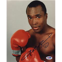 Boxing Legend Sugar Ray Leonard Signed Photo