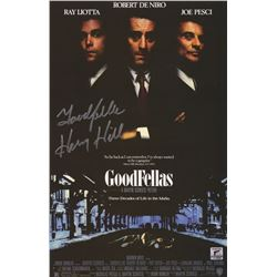 """Lot of 5 Ray Liotta """"Henry Hill"""" Signed Goodfellas Movie Posters"""